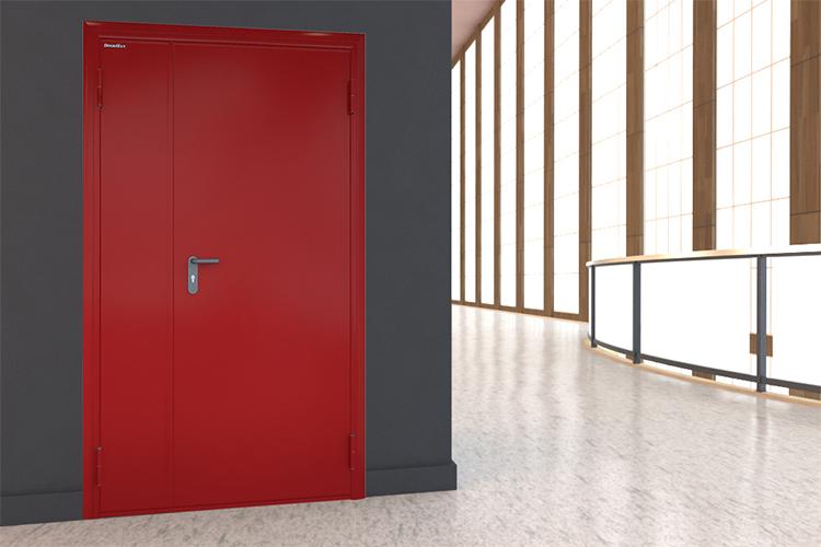 Обзор противопожарные двери DoorHan