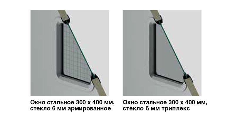окна для противопожарных дверей