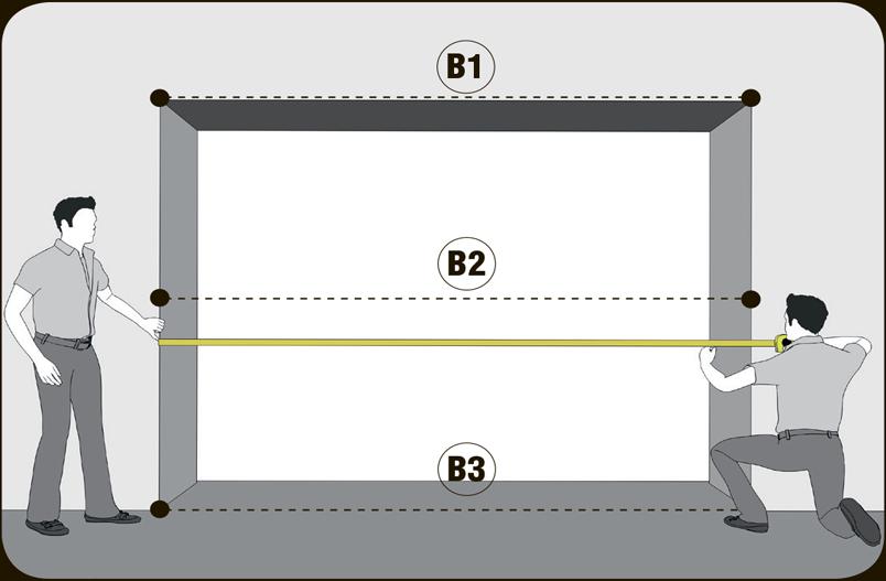 Картинки по запросу как правильно замерить проем для секционных ворот