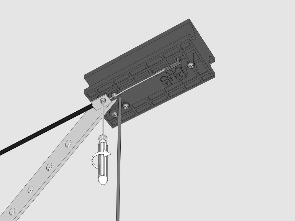 Обновленный комплект внешнего расцепителя для секционных приводов LOCK