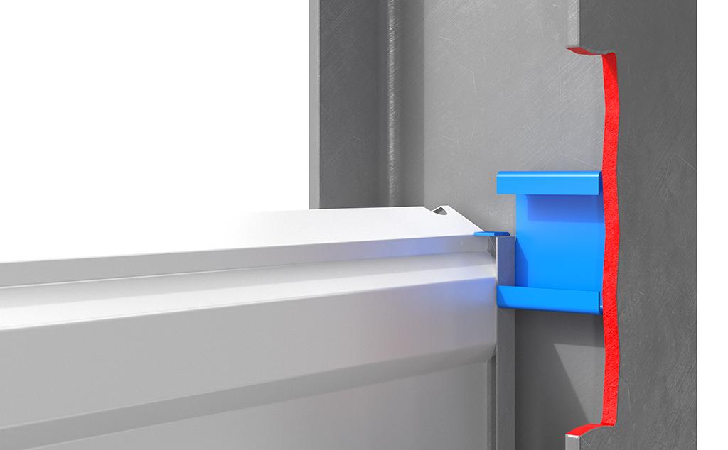Адаптер — новый тип крепления шумозащитных панелей в стойки акустических экранов
