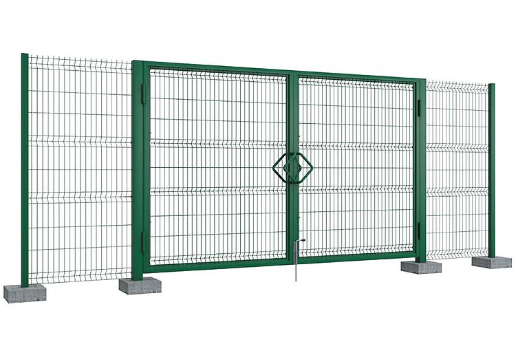 Стандартные комплекты калиток и распашных ворот для систем ограждений в продаже!