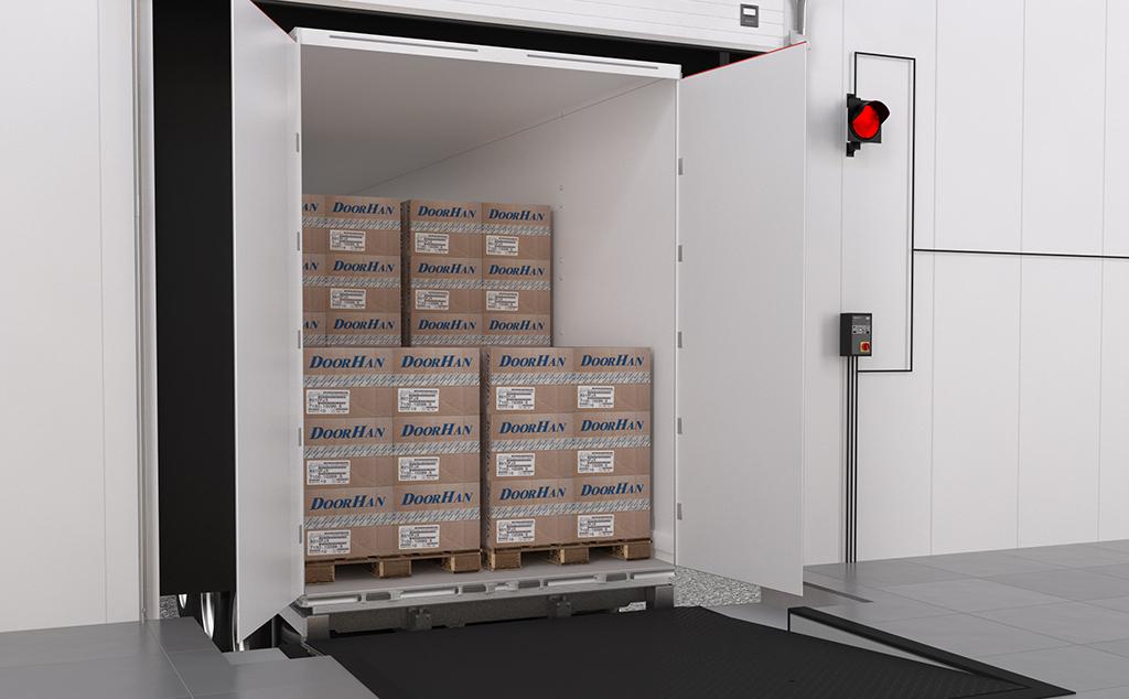 Новый приямок системы SDS для удобной парковки автомобиля в перегрузочный док