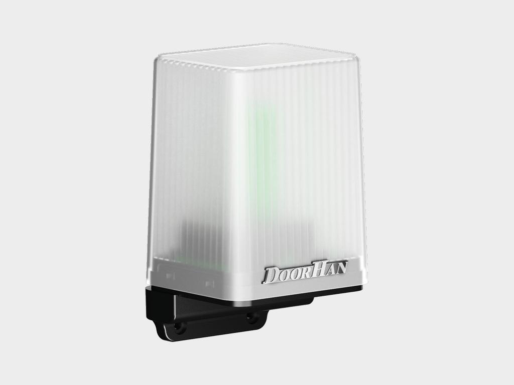 Сигнальная светодиодная лампа с антенной Lamp-PRO предназначена для оповещения о движении ворот.