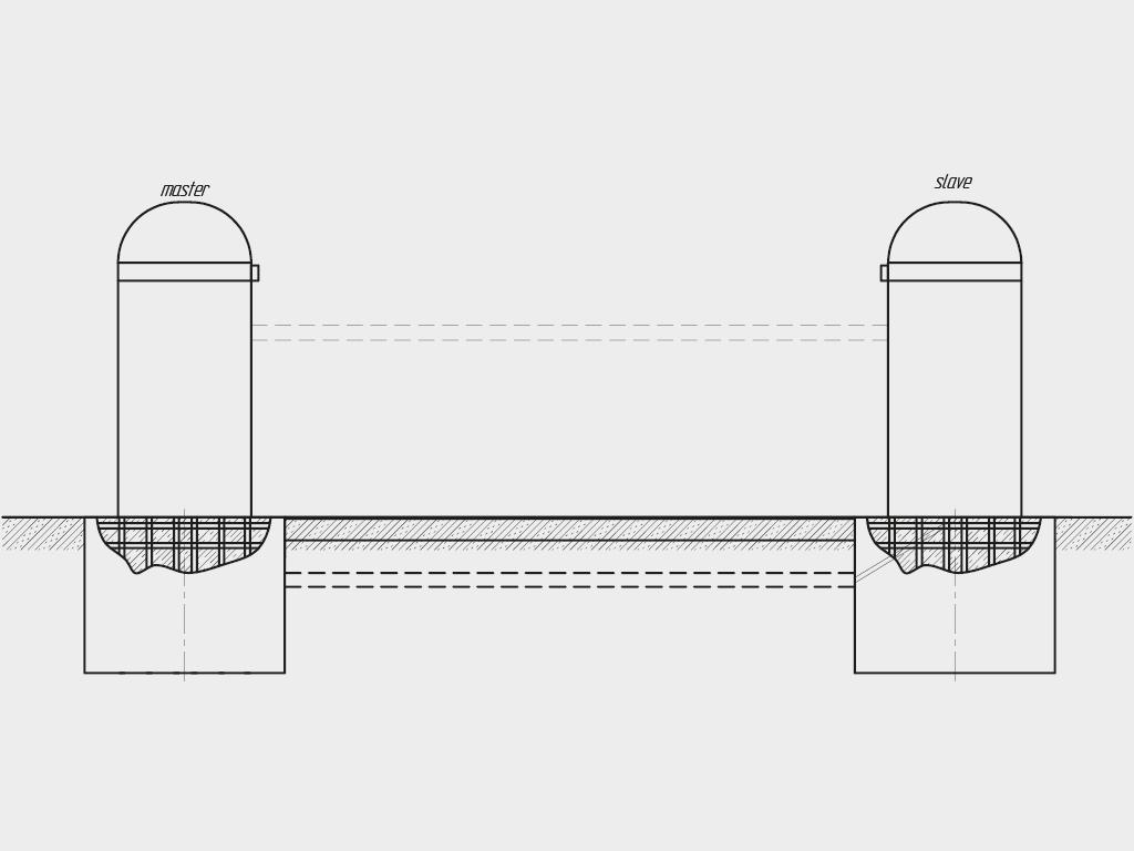 Устанавливается нa бетонное основание с помощью анкерных болтов.