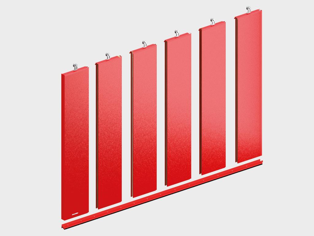 Противопожарные откатные ворота DoorHan с классом огнестойкости EI60, EI90