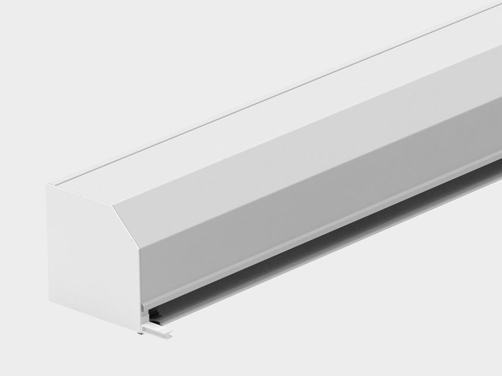 Рольставни DoorHan из одностенного экструдированного профиля RHE56M, RHE56GM