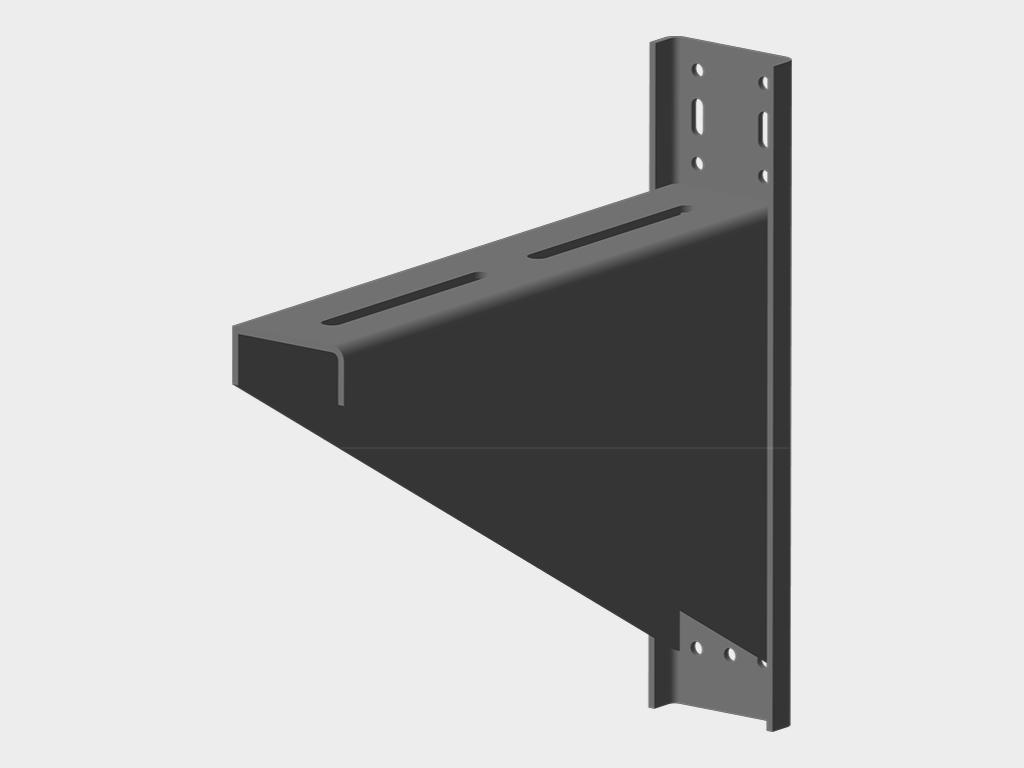 Рулонные стальные ворота DoorHan с навальным электроприводом из профиля RHS117