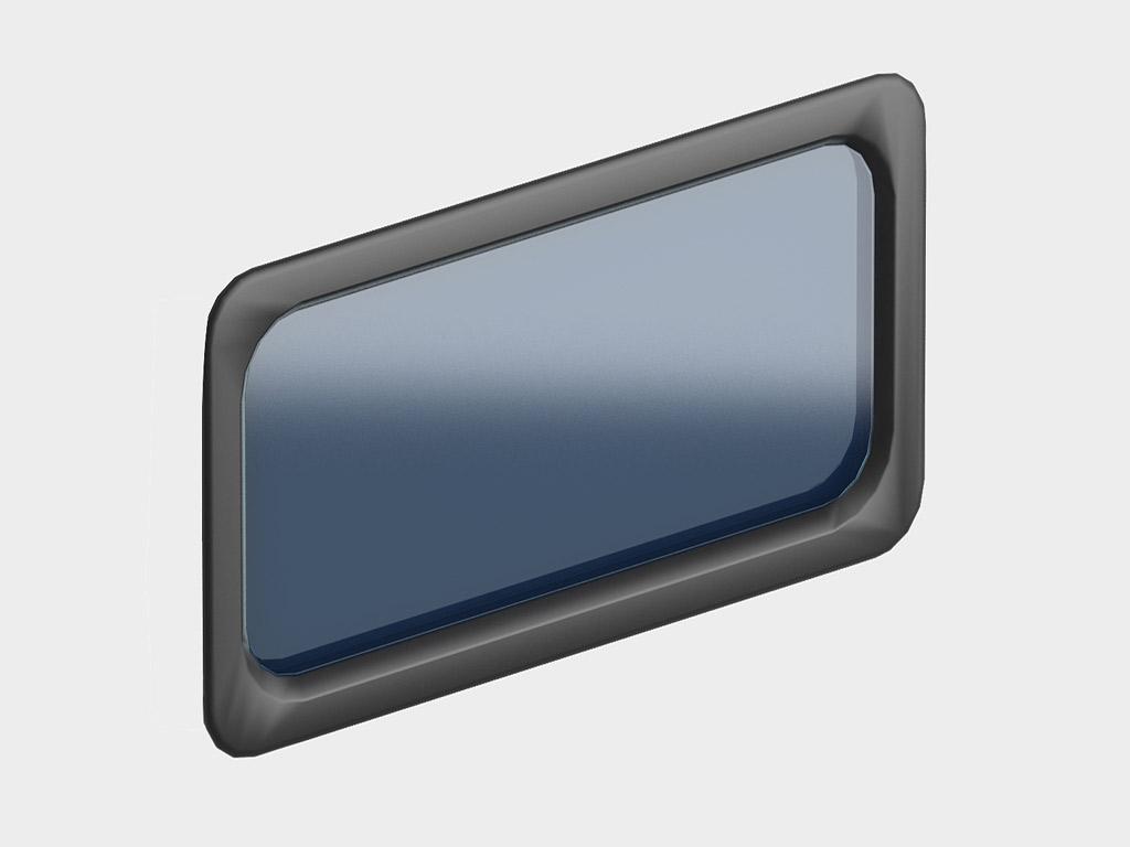 Окно акриловое 635х330