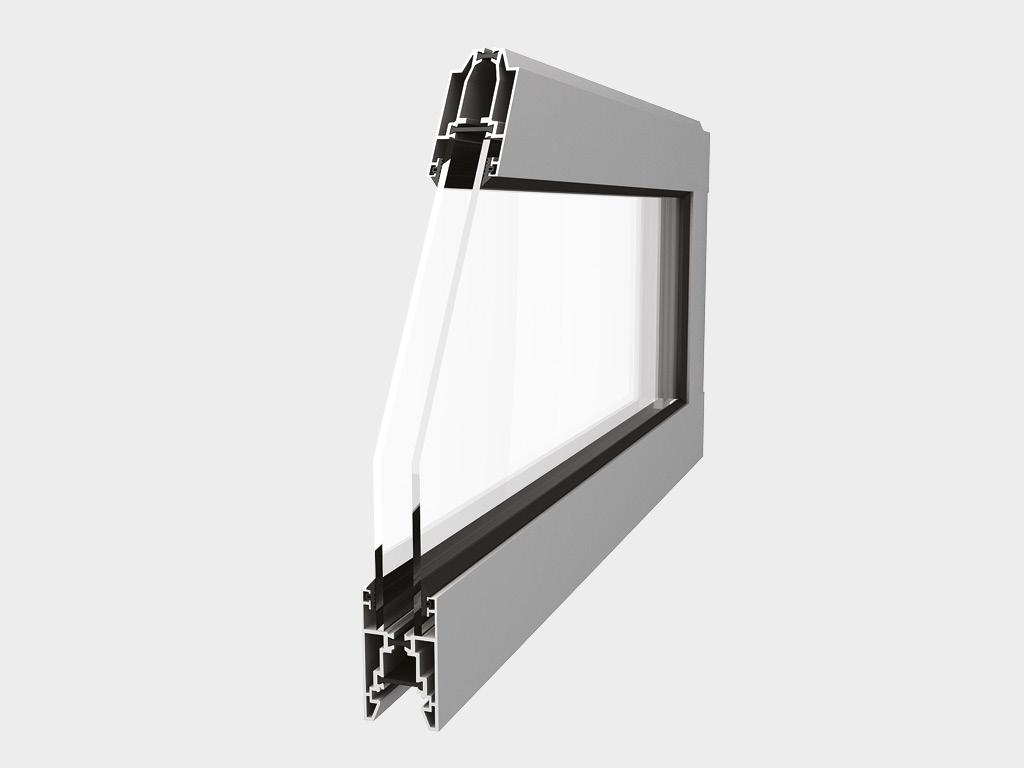 панелей из алюминиевых профилей T-bridge