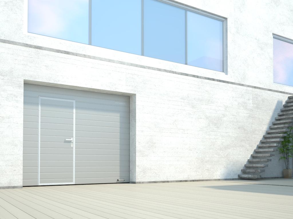 Частное строительство - гаражи с индивидуальным входом
