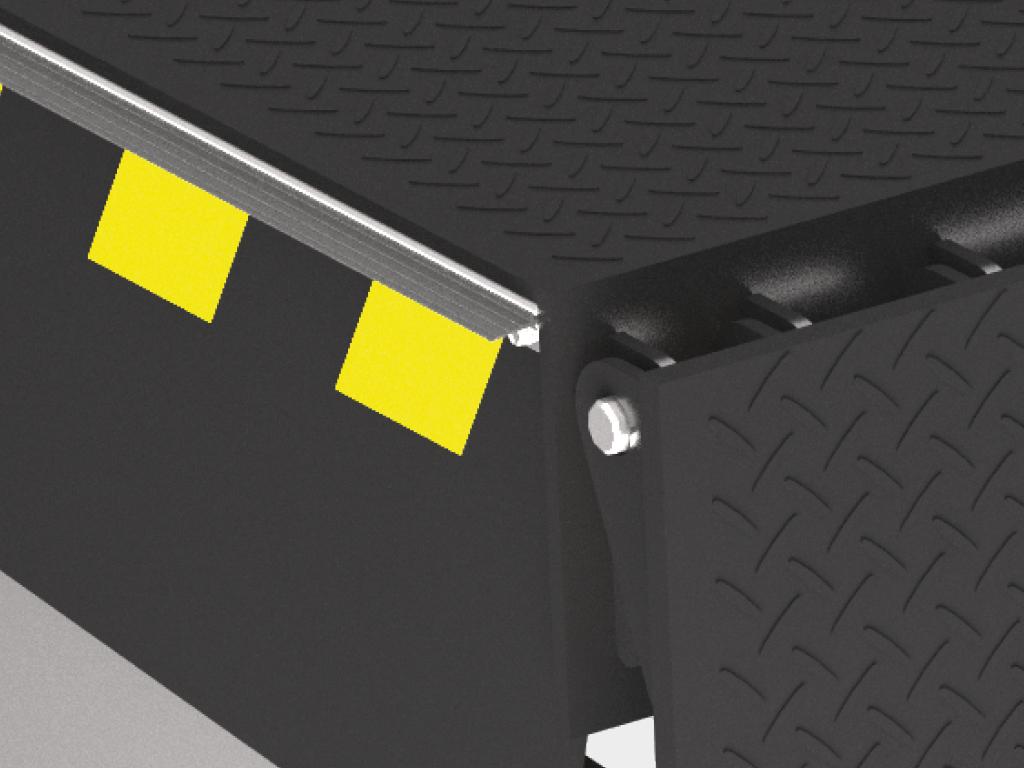 Платформа уравнительная консольного типа DoorHan с поворотной аппарелью