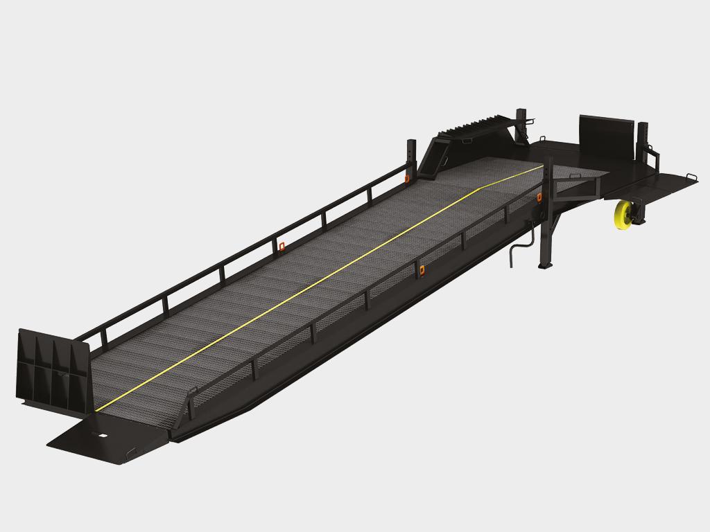 Рампа мобильная DoorHan с трехсторонней загрузкой
