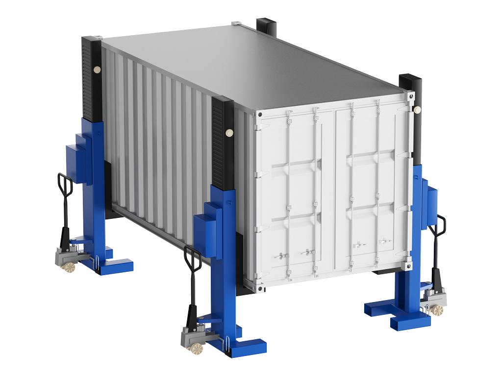 Система подъема контейнеров