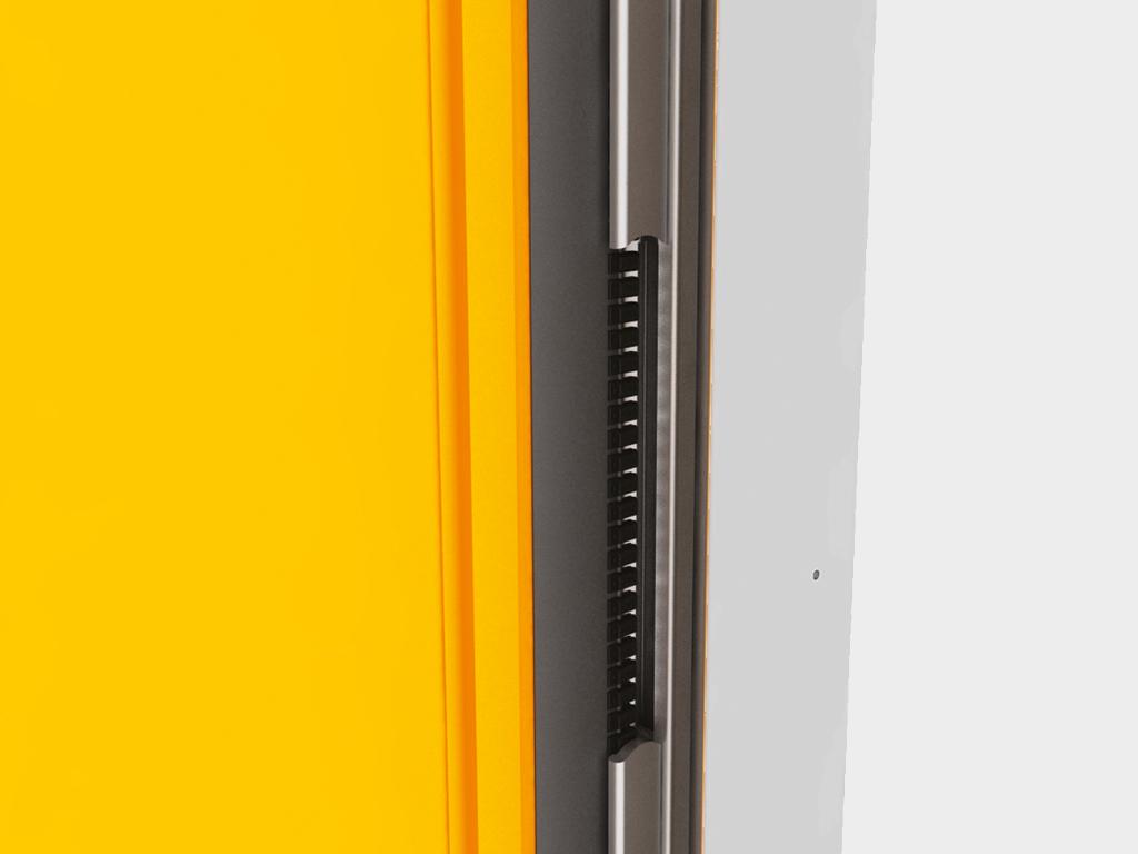 Скоростные рулонные ворота DoorHan для чистых помещений серии SPEEDROLL SDCL