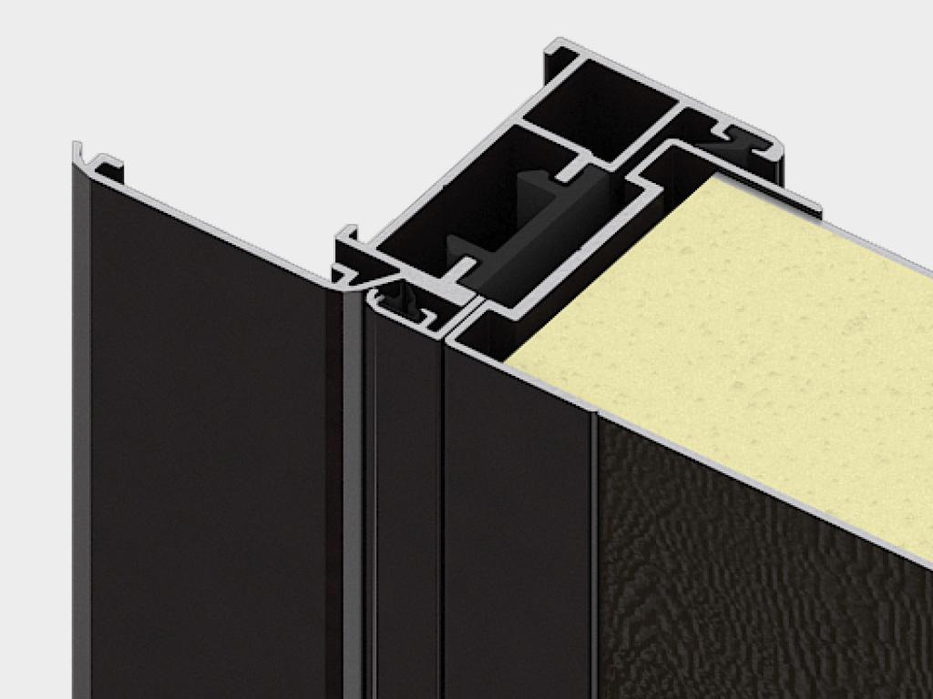 Дверная коробка для накладного монтажа