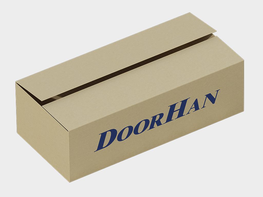 Калитка в алюминиевой раме DoorHan с заполнением профлистом PSD-P