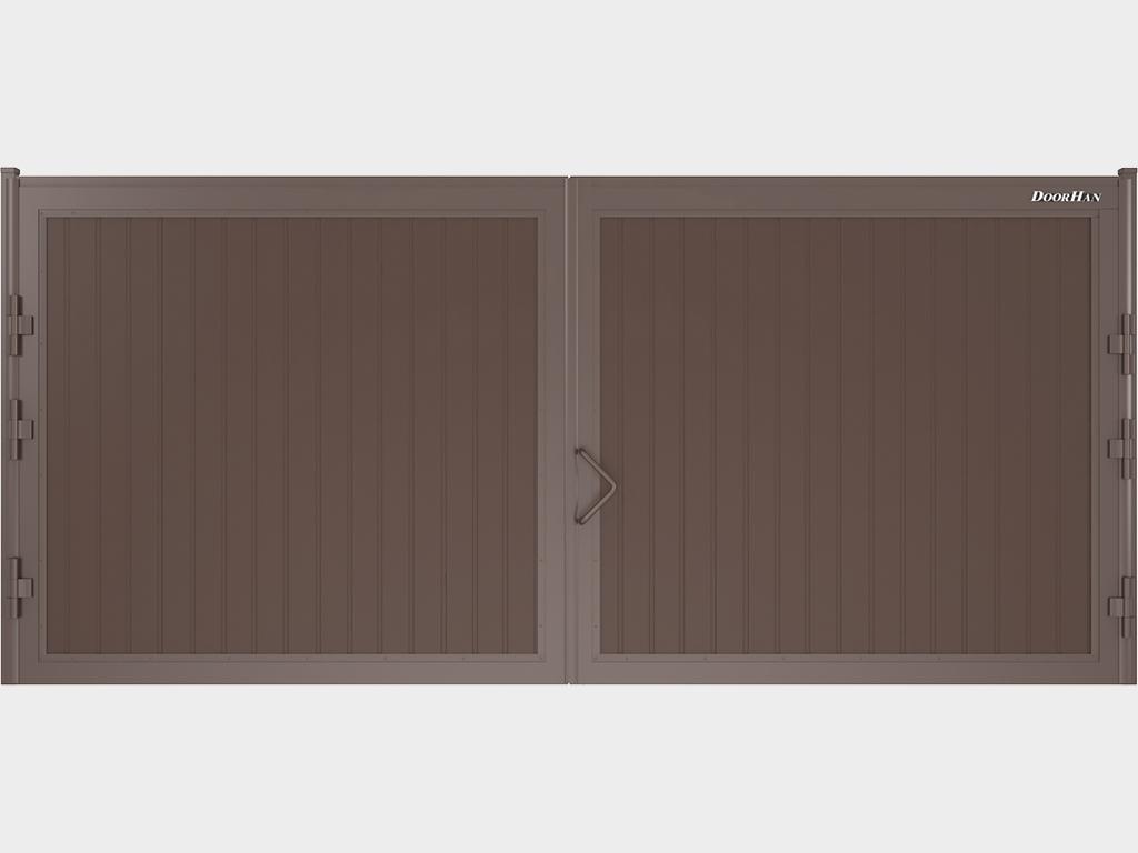 Стандартный комплект распашных ворот DoorHan размер проема 4660х2200(h)мм